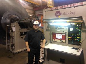 IRD Balancing Machine
